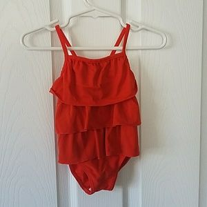Carter's 6-month baby bathing suit. Very cute!